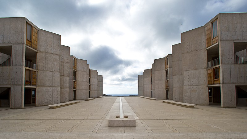 File photo shows The Salk Institute, above the Pacific Ocean in San Diego, Oc...