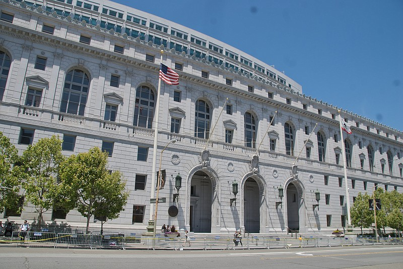 The California Supreme Court building in June 2013.