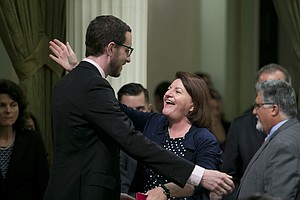 Photo for Sen. Toni Atkins On Passing 'Historic' Housing Bills