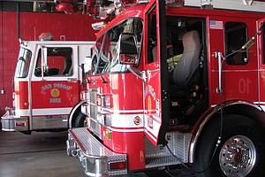 San Diego Fire-Rescue Department Boosts Staffing As Risk For Fire Activity In...