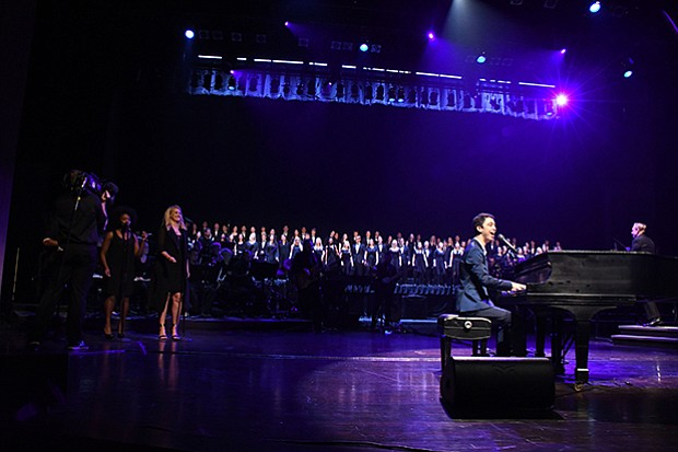 Ethan Bortnick performs at Washington Pavilion, Sioux Falls, S.D.