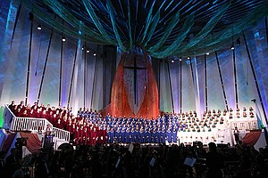 Christmas In Christ Chapel At Gustavus