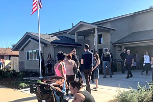 Veteran Triple Amputee Receives New 'Smart Home' In San D...