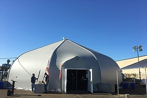Second Homeless Tent Shelter Opened Friday