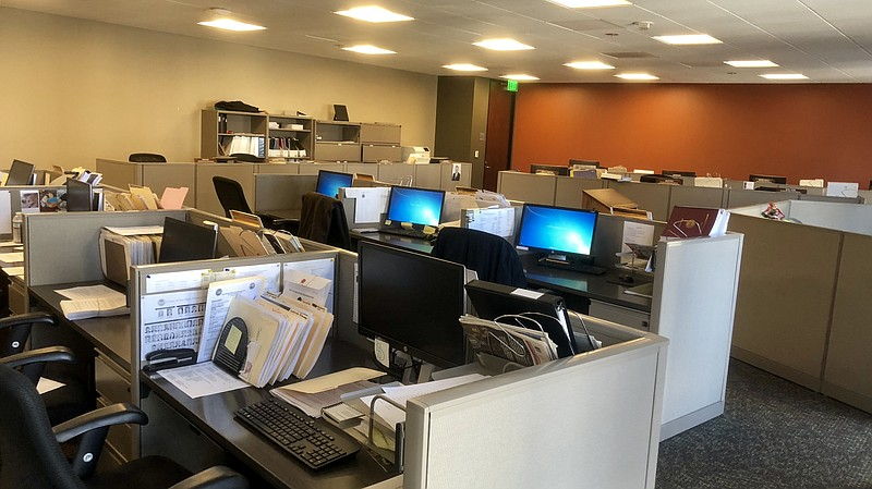 The office for the San Diego County Grand Jury located on C Street downtown, ...