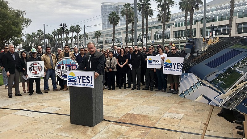 Coalition of business, tourism, and homeless leaders gather to announce plan ...