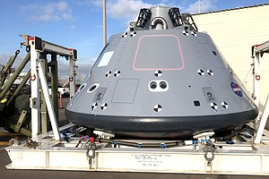 NASA Testing Orion Replica Space Capsule Off San Diego Coast