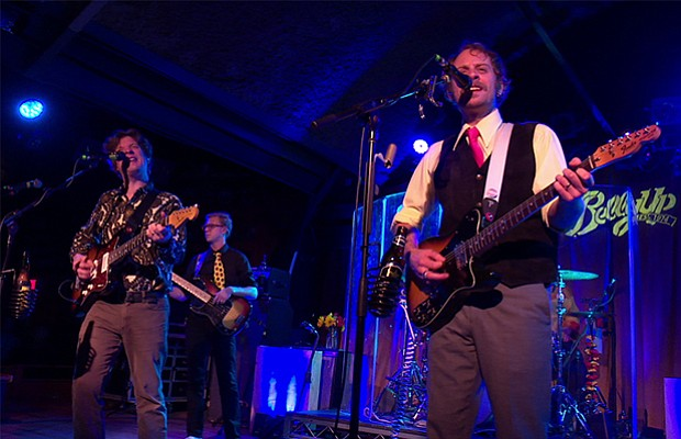 Deer Tick band members Ian Patrick O'Neil, Christopher Dale Ryan, Dennis Mich...