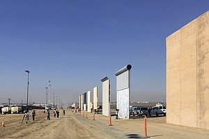 Sheriff Warns Against Trespassing Near Border Wall Protot...