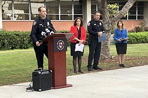 School Officials, Police Pledge Effort To Combat School T...