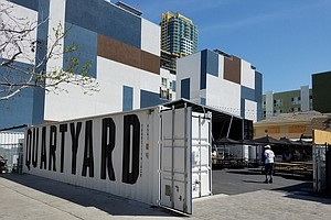San Diego's Temporary Park Quartyard Opens In New Locatio...