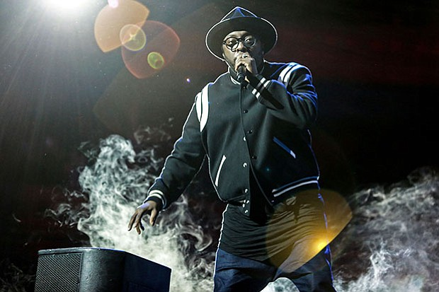 will.i.am in concert at Royal Albert Hall.