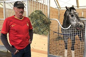 San Luis Rey Stables Back To Racing After Devastating Lil...