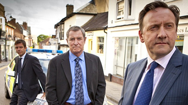 Actors Jason Hughes, John Nettles and Neil Dudgeon. The final episode of Seas...