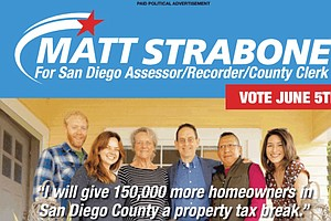 Photo for #ShowUsYourMailers: Dueling Ads Over Tax Breaks In San Diego Assessor Race