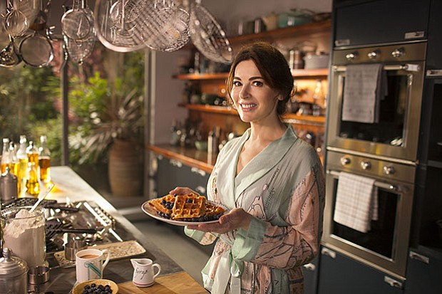 Television personality, journalist and gourmet food writer Nigella Lawson (pi...