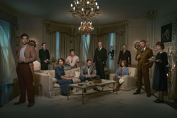 The full cast of AND THEN THERE WERE NONE, a star-studded adaptation of one o...