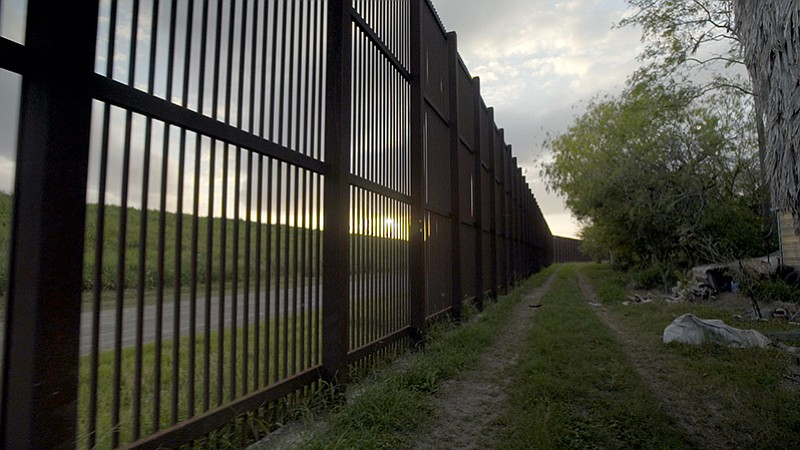 This is a photo taken in 2017 along the U.S.-Mexico border. In