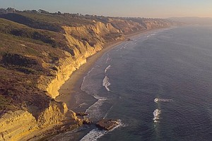 Photo for San Diego Filmmaker Documents The Natural Wonders Of Black's Beach
