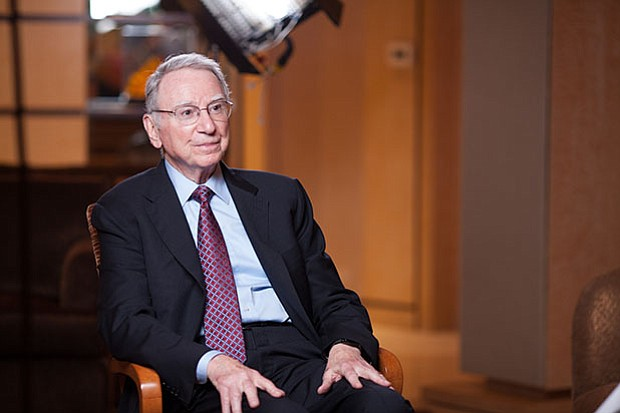 Irwin Jacobs, co-founder and former chairman of Qualcomm in San Diego and cha...