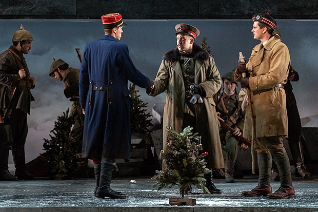 Christmas Truce Of 1914.All Is Calm The Christmas Truce Of 1914 San Diego Opera