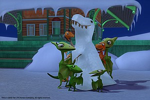 Photo for DINOSAUR TRAIN: Dinosaurs in the Snow/Cretaceous Conifers