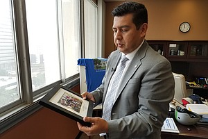 Photo for As He Leaves City Council, David Alvarez Turns Attention To Border Relations