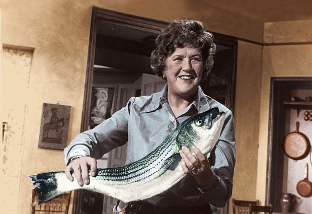 Julia Child is credited with introducing French cooking techniques to mainstr...