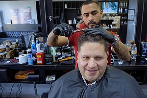 CROSSING SOUTH: Border Crossing And Barber Shop