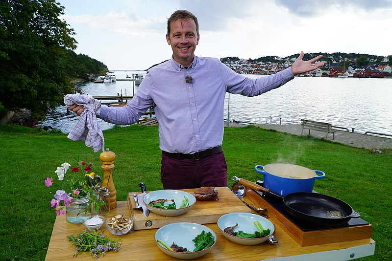 Award-winning TV host and food writer Andreas Viestad (pictured) returns for ...