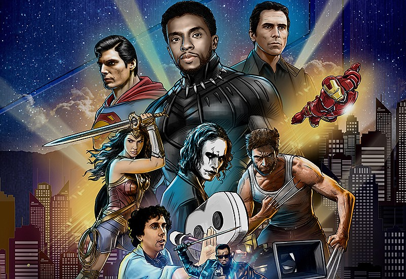 Film poster. There is no bigger genre of film right now than the superhero mo...