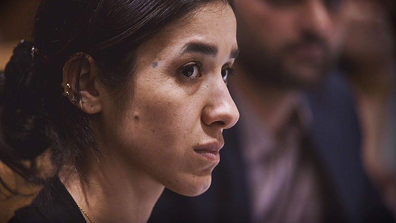Nadia Murad (pictured), a 23-year-old Yazidi, survived genocide and sexual sl...