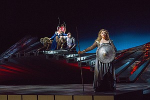Photo for GREAT PERFORMANCES AT THE MET: Die Walküre