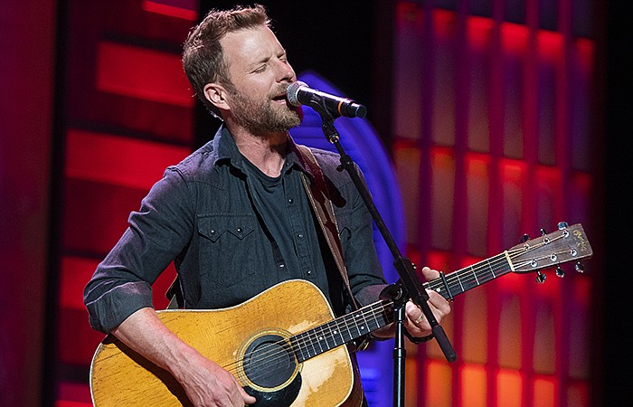 Dierks Bentley performs at