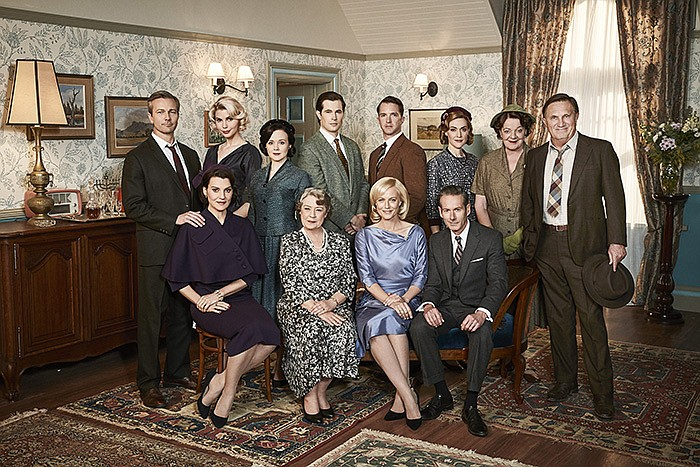 The cast of A PLACE TO CALL HOME. The series explores the ties that hold fami...