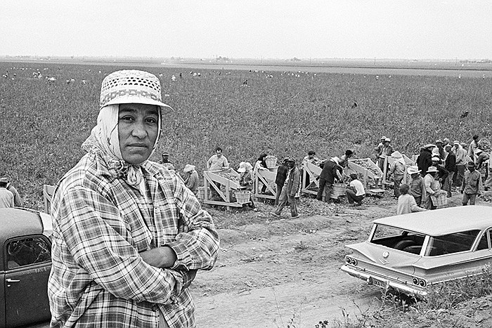 Migrant mother Maria Moreno became the first farmworker woman in America to b...