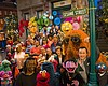 SESAME STREET is all ready for its 50th anniver...