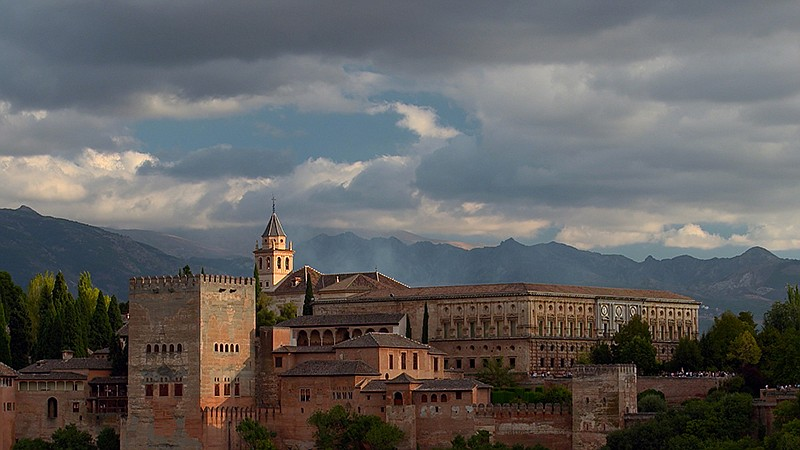 Largely built by the Nasrids in the 13th-century, Grenada's Alhambra is one o...