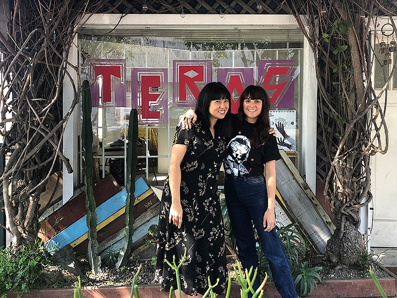 Alejandra Frank and Carmela Prudencio of Teros Gallery