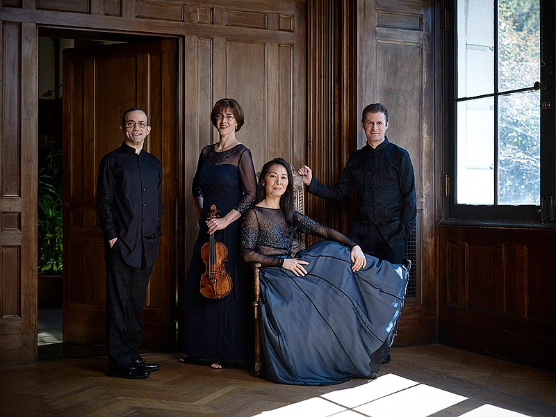 The Brentano Quartet performs tonight at the Conrad Prebys Performing Arts Ce...