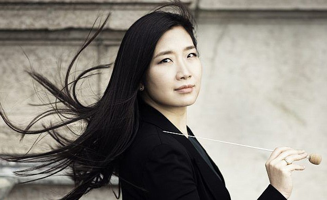 Eun Sun Kim will guest conduct the San Diego Symphony this weekend.