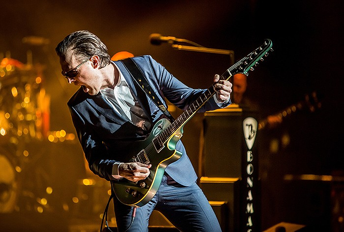 Joe Bonamassa performs live at the Old Royal Naval College in Greenwich, Lond...