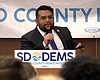 San Diego County Democratic Party chairman Will...