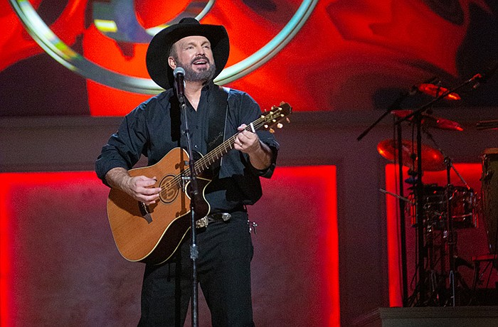 Garth Brooks at the live taping at DAR Constitution Hall in Washington, D.C.
