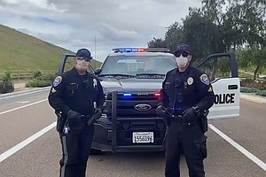 Photo for How Local Police Are Making Arrests, Handling Stress In The Coronavirus Era