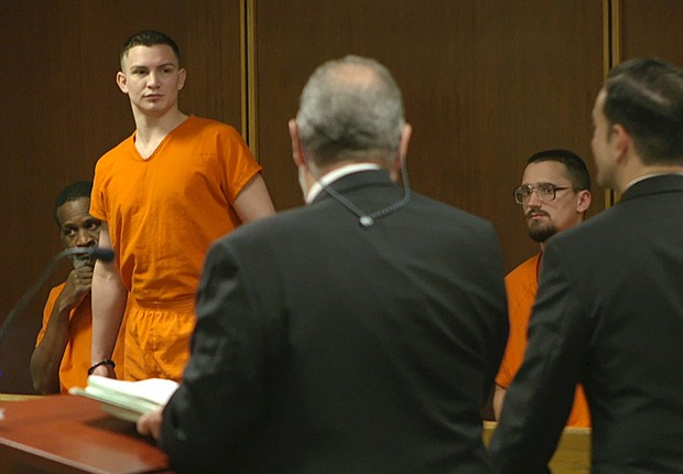 Trevor Dolan, Jail Diversion Project client, appears in court. (undated photo)