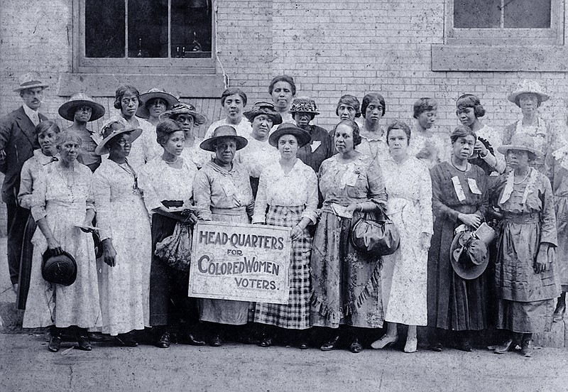 Head-Quarters for Colored Women Voters
