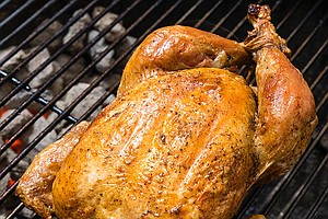 Photo for AMERICA'S TEST KITCHEN FROM COOK'S ILLUSTRATED: Grill-Roasted Chicken And Gre...