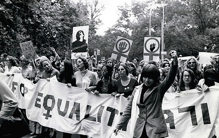 Women's Liberation March, 1971.