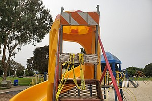 Photo for San Diego Beaches, Parks And Restaurants Are Open, But Playgrounds Remain Closed